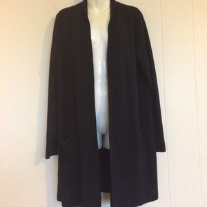 Eileen Fisher Sweater Coat Sz L